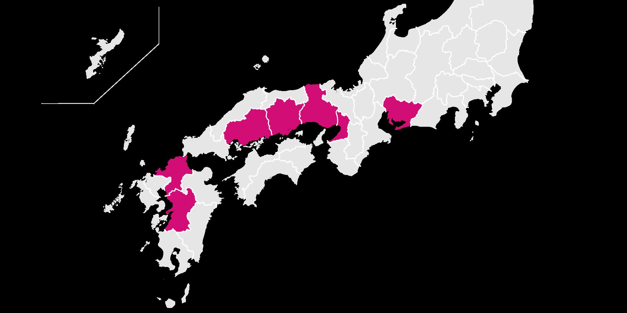 グループ店分布地図